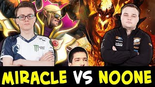 HIGH LEVEL DOTA — Miracle Invoker vs Noone Shadow Fiend mid
