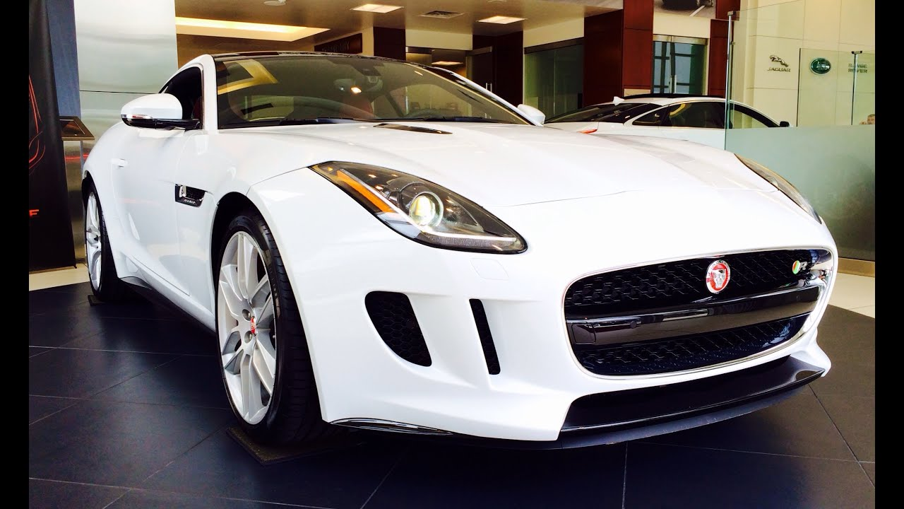 2018 Jaguar F Type >> 2015 Jaguar F-Type R Coupe Exhaust, Start Up and In Depth Review - YouTube