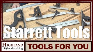 Starrett Combination Squares Instructional Video