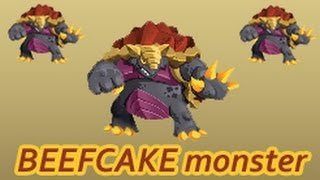 Monster Legends - How To Get Beefcake Monster By Breeding In Monster Legends