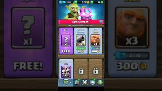 Clash Royale opening#2 Giant chest