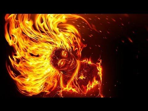 Как сделать огненное фото в фотошопе - Авто Шарм