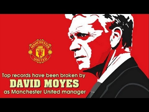 Top records have been broken by David Moyes as Manchester United manager - Amazing Facts