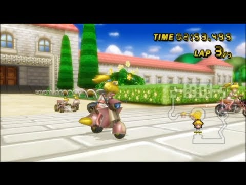 Mario Kart Wii - - Online Races 222: Super Princess Peach Cup I