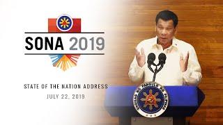 President Rodrigo Duterte delivers his 4th State of the Nation Address (SONA)  |  July 22, 2019