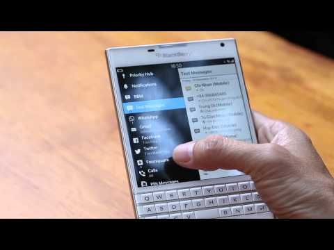 Tinhte.vn - Review BlackBerry Passport: Hệ điều hành và ứng dụng