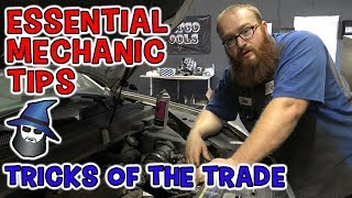 The CAR WIZARD shares 10 Crazy Easy and Essential Mechanic Tips
