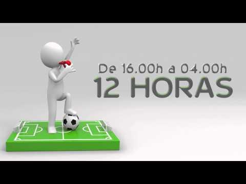 Spot 12 horas de fútbol sala en Playa San Juan 28 marzo 2015
