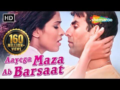 Aayega Maza Ab Barsaat Ka | Andaaz Songs | Akshay Kumar | Priyanka Chopra | Alka Yagnik| Filmigaane