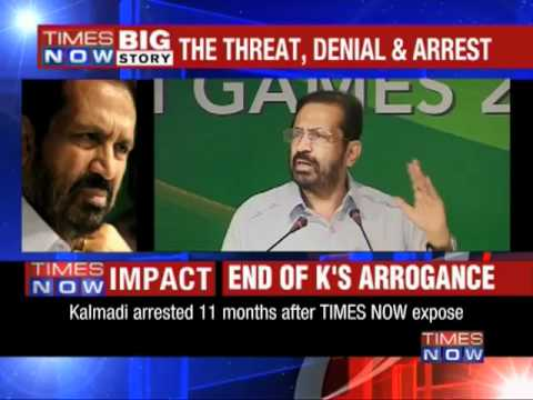The end of Kalmadi's arrogance