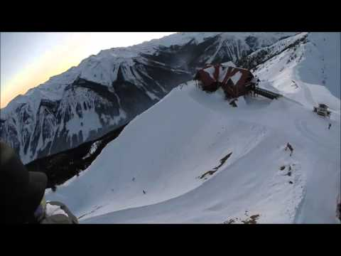 GoPro footage of helicopter rescue from ski resort gondola