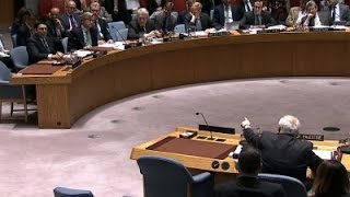 Raw: Israel, Palestinians in UN shouting match