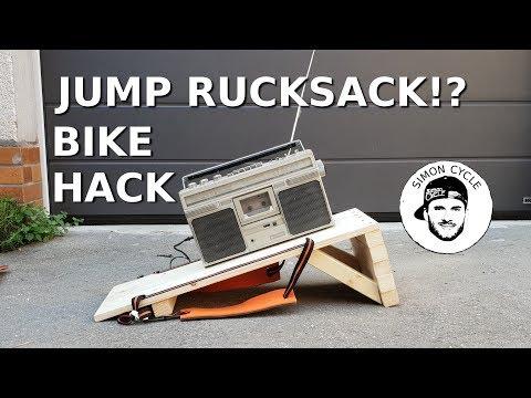 BIKE HACK | Mobile MTB Rampe als Rucksack bauen! Tutorial