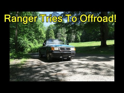 Ford Ranger Hits The Woods!