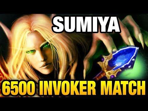 SUMiYa Invoker - 6500 Matches Already OMG Dota 2