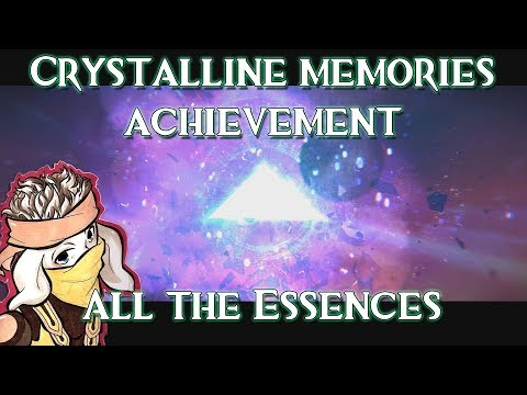 GUILD WARS 2: PATH OF FIRE | CRYSTALLINE MEMORIES | ALL CRYSTALS ACHIEVEMENT | STREAM HIGHLIGHT