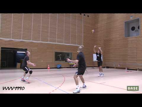 Training mit den BR Volleys