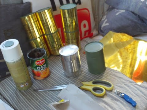 HOW TO MAKE REPLICA WORLD WAR TWO US ARMY RATION TINS IN A FEW EASY STEPS