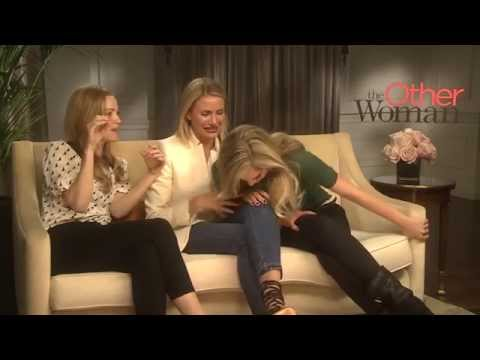 The Other Woman – Cameron Diaz, Leslie Mann and Kate Upton Interview