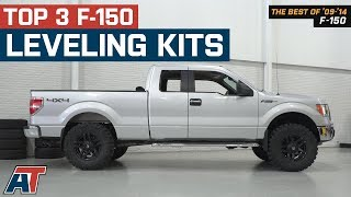 The 3 Best F-150 Leveling Lift Kits For 2009-2014 Ford F-150