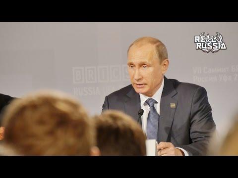 Behind the BRICS/SCO Summits 2015 with Putin.