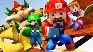 Minecraft | FIRST PERSON SUPER MARIO CHALLENGE - Mario Mod Level 1!
