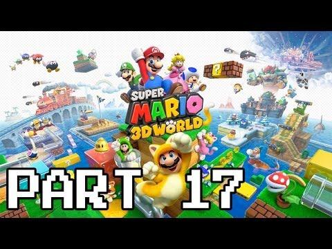 Super Mario 3d World Walkthrough Part 17 Cakewalk Flip