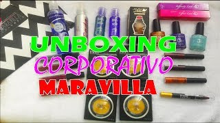 UNBOXING CORPORATIVO MARAVILLA COLOMBIA