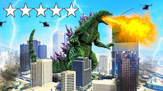 Playing GTA 5 As A MONSTER! (Mods)
