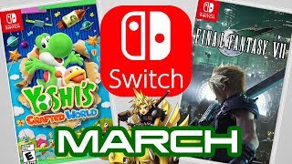 Top 10 Nintendo Switch Games Coming March 2019!