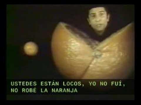 Miniatura del vídeo La naranja (L'orange) de Gilbert Bécaud