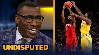 Shannon Sharpe believes James Harden is in the conversation for best scorer ever | NBA | UNDISPUTED