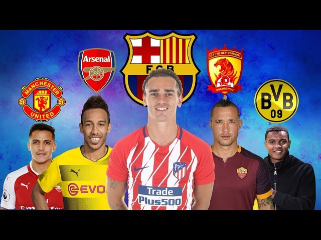 LATEST TRANSFER NEWS AND RUMORS JANUARY 2018 | Sanchez to Man UTD, Griezmann to Barcelona and more