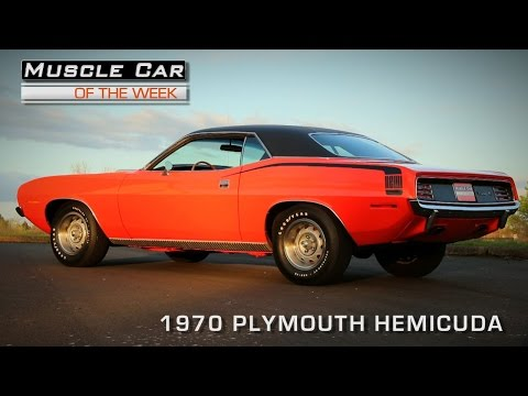 Muscle Car Of The Week Video #94:  1970 Plymouth 426 Hemi 'Cuda
