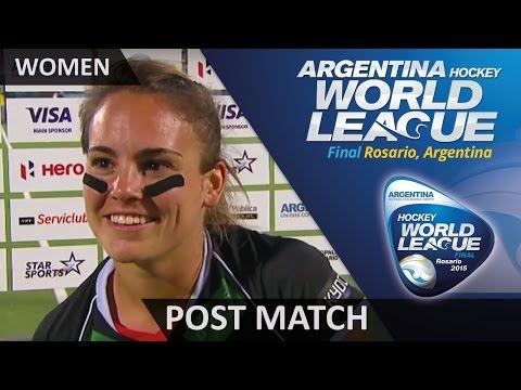 Lisa Altenburg Post Match Interview #HWL2015 #Rosario