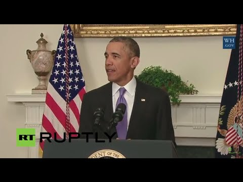LIVE: Barack Obama delivers statement on Iran