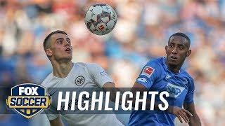 1899 Hoffenheim vs. Eintracht Frankfurt   2018-19 Bundesliga Highlights