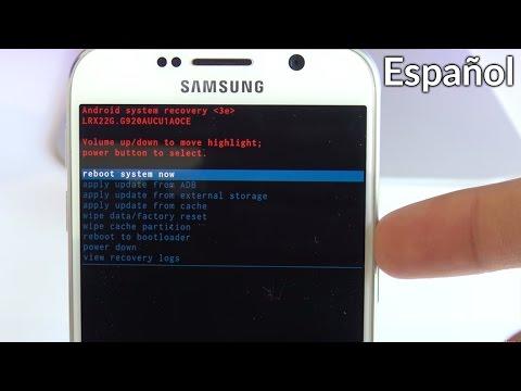 Quitar Codigo de Seguridad Samsung Galaxy - Restaurar de fábrica / Desbloquear Codigo