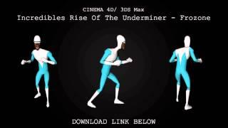 Cinema 4D/ 3DS Max | Frozone Model Download