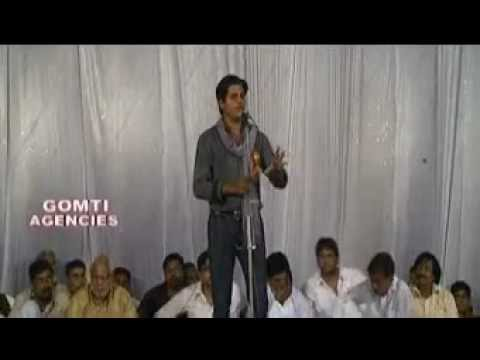 Poet Imran Pratapgarhi At Pachperwa Mushaira (part-4) video