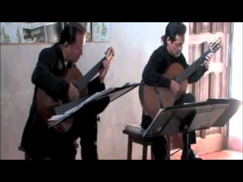 Odeum Guitar Duo - 2-27-11 - William Lawes - Courant I, Alman, Courant II