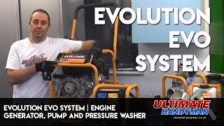 Evolution EVO system | Engine, generator, pump and pressure washer