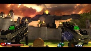 Serious Sam 2 HD,  boss fight 1&2