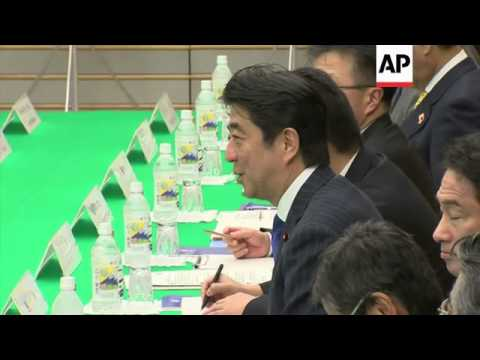Last day of meeting, Abe in bilaterals with Myanmar and Vietnam leaders