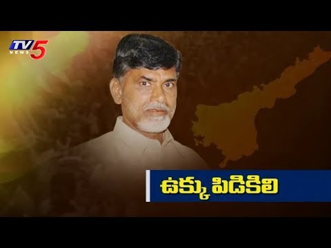 AP CM Chandrababu Naidu Serious On Centre Over Kadapa Steel Plant | TV5 News