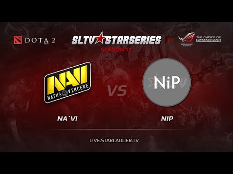 NAVI  vs  NiP Starladder XI  Europe Day 11