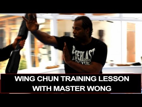 Wing Chun training - with Master Wong Image 1