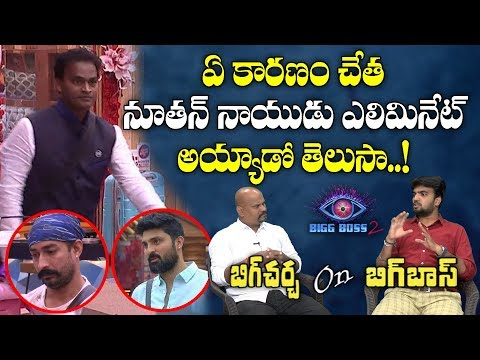 Big Debate on Elimination Of Nuthan Naidu | Big Debate on Bigg Boss 2 Telugu Elimination | Y5 tv |
