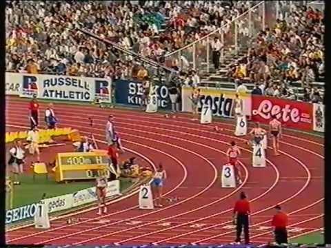 1998, Susan Smith, European Athletics Championships, 400mH, sf 3