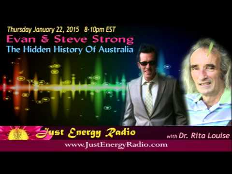 Just Energy Radio - The Hidden History Of Australia - Steven & Evan Strong